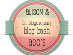 celebrating @alisonswlee's and @adothemomalog's first blogoversaries with an old post of Q's