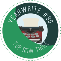 top row three winner at yeah write weekly writing challenge
