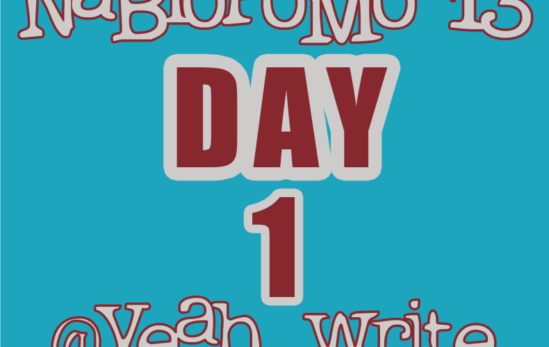 BlogHer's NaBloPoMo at yeah write: Day 1—so are you joining us or what?