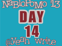 BlogHer's NaBloPoMo at yeah write—Day 14: Just Say No to CAPTCHA