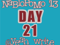 BlogHer's NaBloPoMo at yeah write—Day 21: writing, history…and the (missing) idea fairy