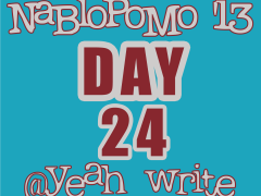 BlogHer's NaBloPoMo at yeah write—Day 24: on finding one's writing home