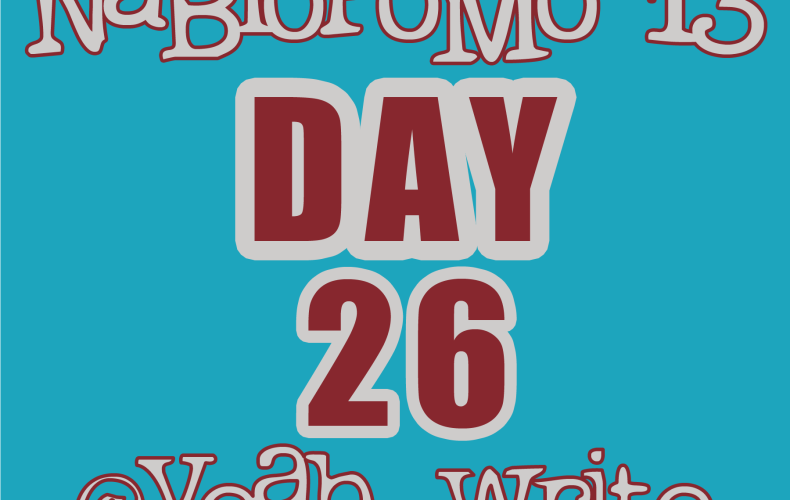 BlogHer's NaBloPoMo at yeah write—Day 26: She didn't know…