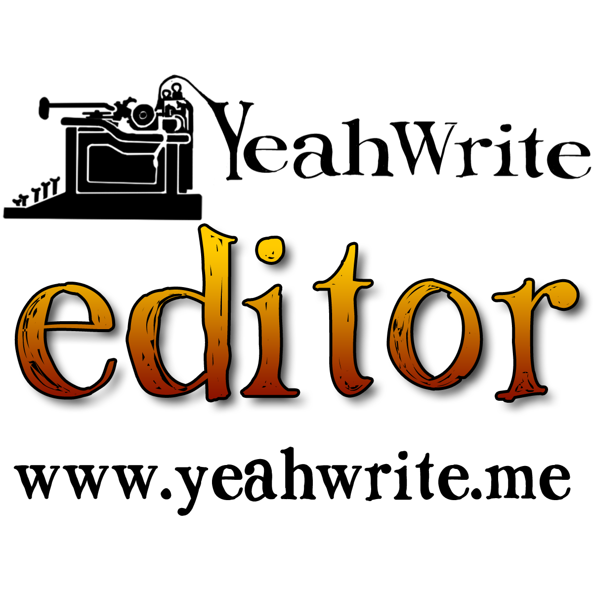 yeah write editor badge
